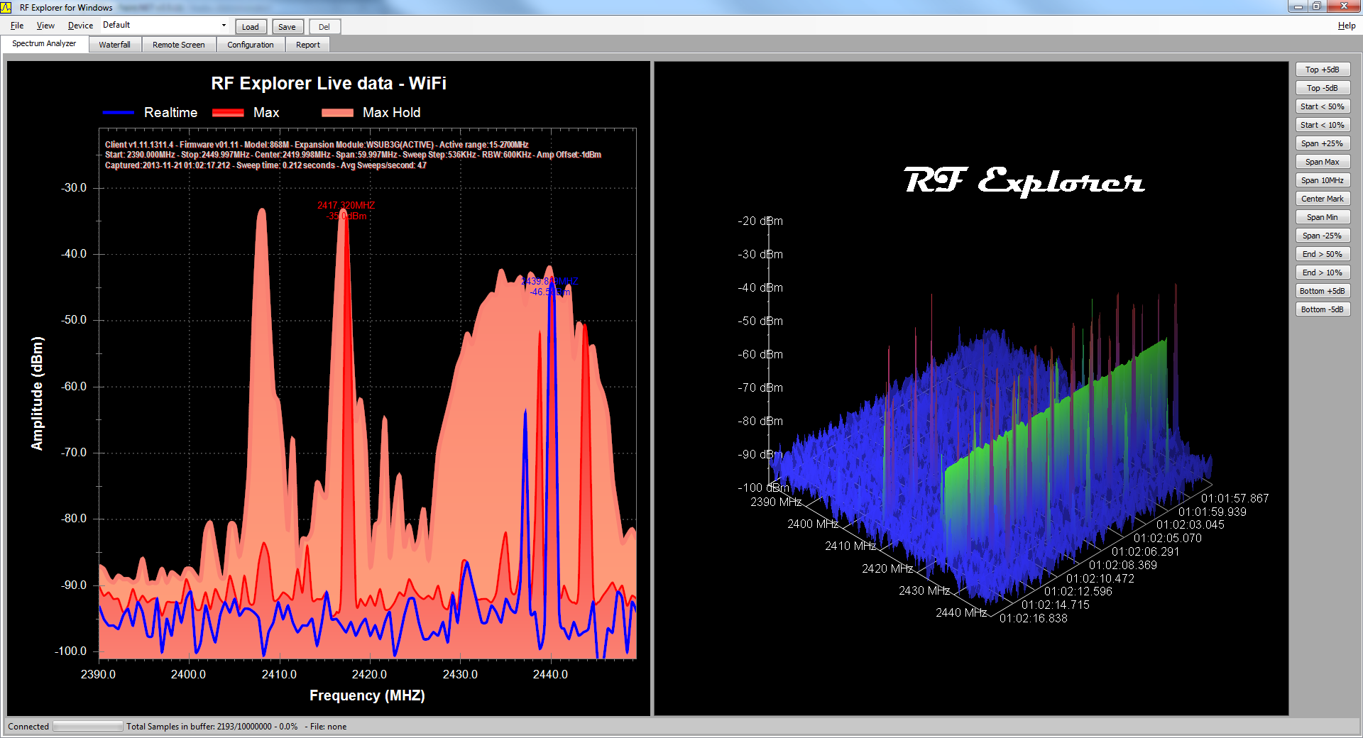 User manual: RF Explorer for Windows PC Client