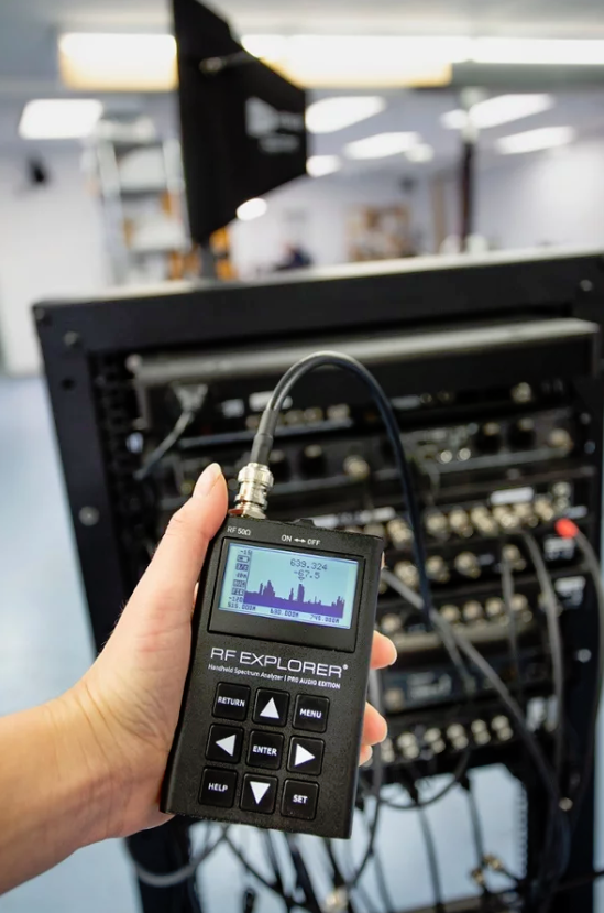 Introducing RF Venue - RF Explorer Pro Audio